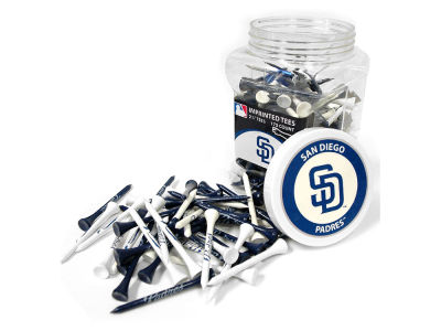 San Diego Padres Team Golf Jar Of 175 Golf Tees