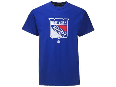 New York Rangers NHL Men's Team Colour Logo T-shirt