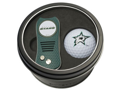 Dallas Stars Team Golf Tin Gift Set w/ Switchfix Divot Tool and Golf Ball