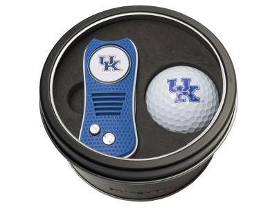 Kentucky Wildcats Team Golf Tin Gift Set w/ Switchfix Divot Tool and Golf Ball