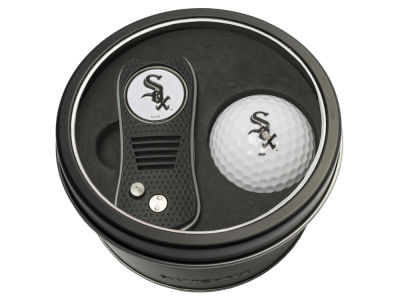 Chicago White Sox Team Golf Tin Gift Set w/ Switchfix Divot Tool and Golf Ball