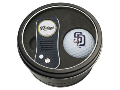 San Diego Padres Team Golf Tin Gift Set w/ Switchfix Divot Tool and Golf Ball