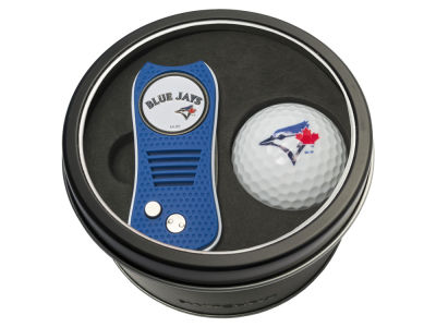 Toronto Blue Jays Team Golf Tin Gift Set w/ Switchfix Divot Tool and Golf Ball