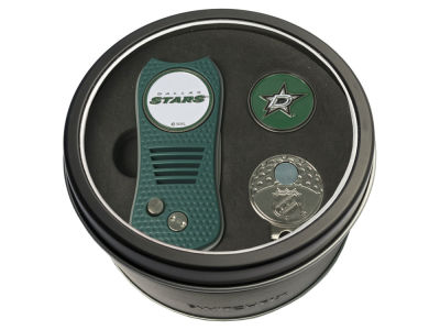 Dallas Stars Team Golf Tin Gift Set w/ Divot Tool, Cap Clip, Ball Marker