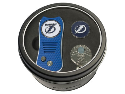Tampa Bay Lightning Team Golf Tin Gift Set w/ Divot Tool, Cap Clip, Ball Marker