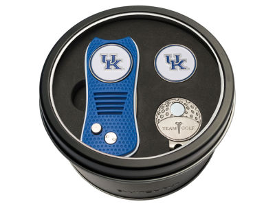 Kentucky Wildcats Team Golf Tin Gift Set w/ Divot Tool, Cap Clip, Ball Marker