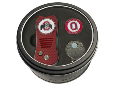 Team Golf Tin Gift Set w/ Divot Tool, Cap Clip, Ball Marker