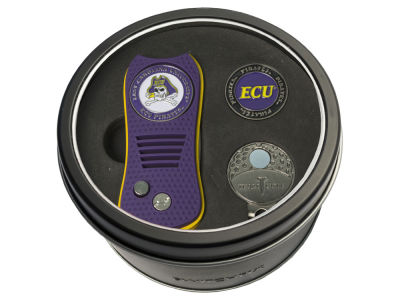 East Carolina Pirates Team Golf Tin Gift Set w/ Divot Tool, Cap Clip, Ball Marker