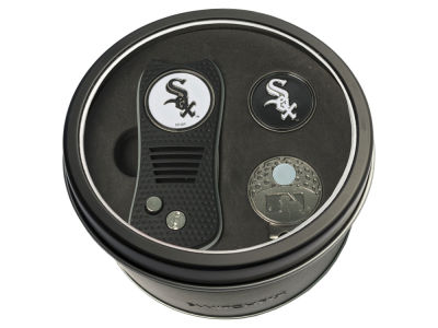 Chicago White Sox Team Golf Tin Gift Set w/ Divot Tool, Cap Clip, Ball Marker