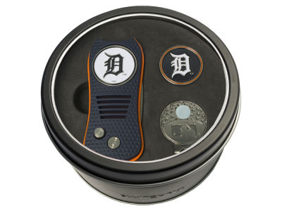 Detroit Tigers Team Golf Tin Gift Set w/ Divot Tool, Cap Clip, Ball Marker