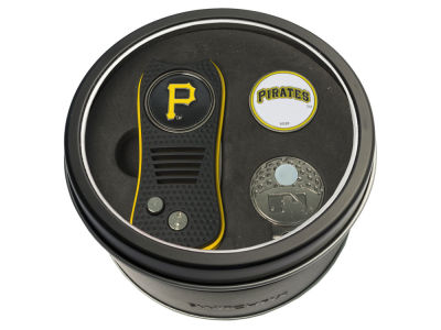 Pittsburgh Pirates Team Golf Tin Gift Set w/ Divot Tool, Cap Clip, Ball Marker