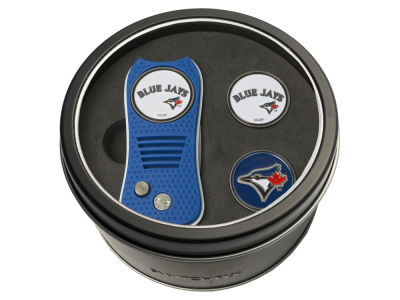 Toronto Blue Jays Team Golf Tin Gift Set Switchfix Divot Tool 2 Ball Markers