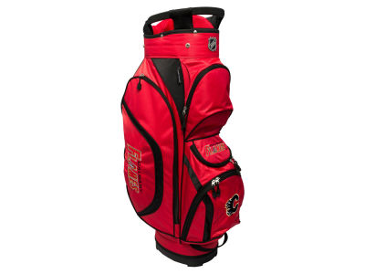 Calgary Flames Team Golf Clubhouse Golf Cart Bag