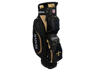 New Orleans Saints Team Golf Clubhouse Golf Cart Bag