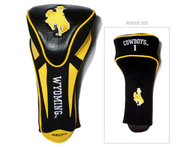 Wyoming Cowboys Team Golf Single Apex Driver Head Cover