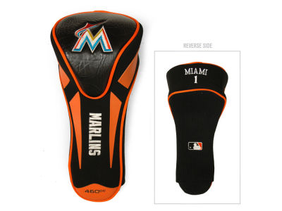 Miami Marlins Team Golf Single Apex Driver Head Cover