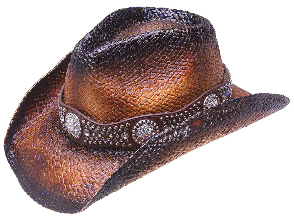 Peter Grimm Women s Cash Studded Cowgirl Hat  cb9cdfde662
