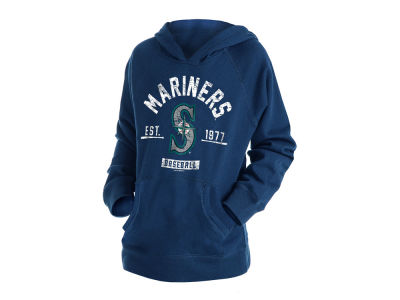 Seattle Mariners New Era MLB Youth Fleece Pullover Hoodie
