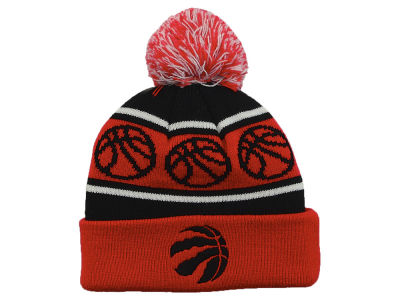 Toronto Raptors Outerstuff NBA Infant Team Cuffed Pom Knit