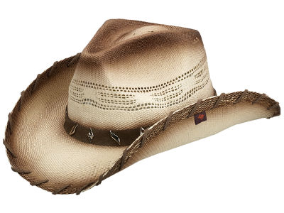 Peter Grimm Saddle Drifter Cowboy Hat