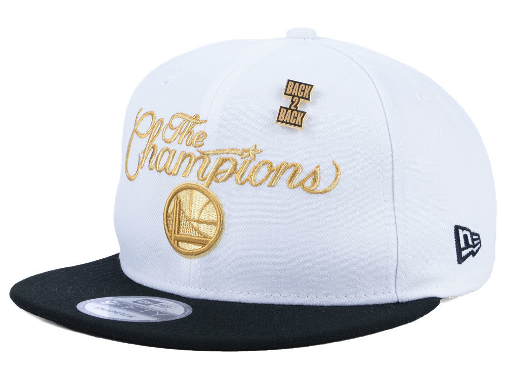 71dda5e36a9 Golden State Warriors New Era 2018 NBA Ring Ceremony 9FIFTY Snapback Cap