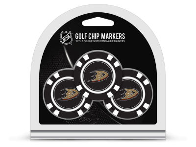Anaheim Ducks Team Golf 3 Pack Golf Chip Ball Markers