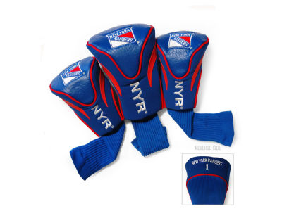 New York Rangers Team Golf 3 Pack Contour Head Covers