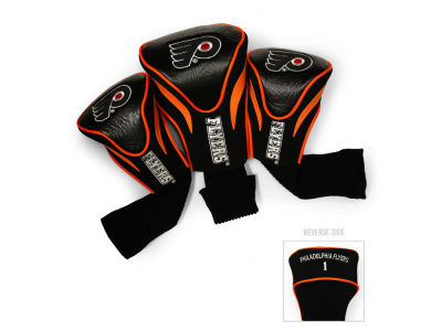 Philadelphia Flyers Team Golf 3 Pack Contour Head Covers