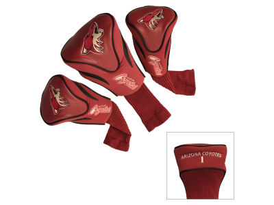 Arizona Coyotes Team Golf 3 Pack Contour Head Covers