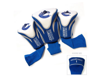 Vancouver Canucks Team Golf 3 Pack Contour Head Covers