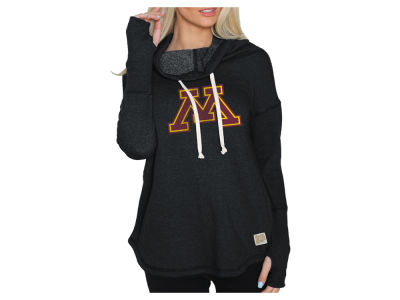 Minnesota Golden Gophers Retro Brand 2018 NCAA Women s Funnel Neck Hoodie 51c509c3a