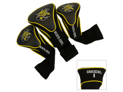 Wichita State Shockers Team Golf 3 Pack Contour Head Covers
