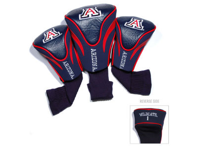 Arizona Wildcats Team Golf 3 Pack Contour Head Covers
