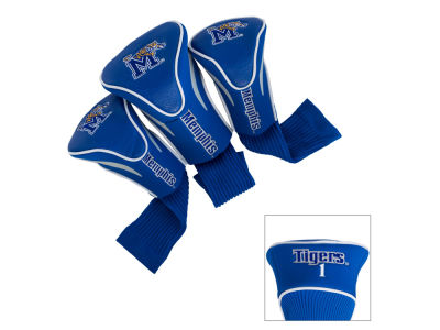 Memphis Tigers Team Golf 3 Pack Contour Head Covers