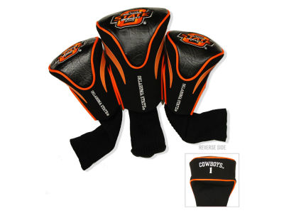 Oklahoma State Cowboys Team Golf 3 Pack Contour Head Covers