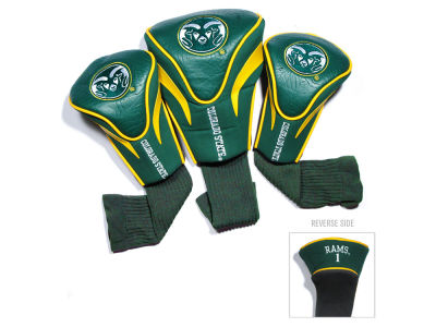 Colorado State Rams Team Golf 3 Pack Contour Head Covers