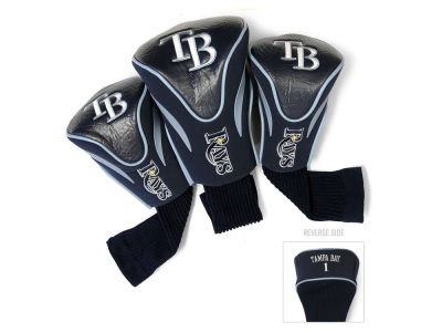 Tampa Bay Rays Team Golf 3 Pack Contour Head Covers