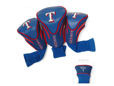 Texas Rangers Team Golf 3 Pack Contour Head Covers