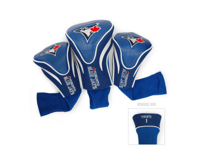 Toronto Blue Jays Team Golf 3 Pack Contour Head Covers