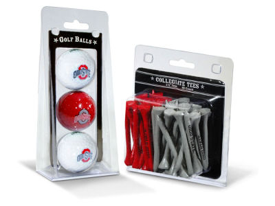 Team Golf 3 Golf Balls And 50 Golf Tees Set