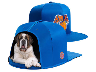 New York Knicks Nap Cap NBA Nap Cap Pet Bed - Large