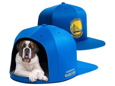 Golden State Warriors Nap Cap NBA Nap Cap Pet Bed - Large