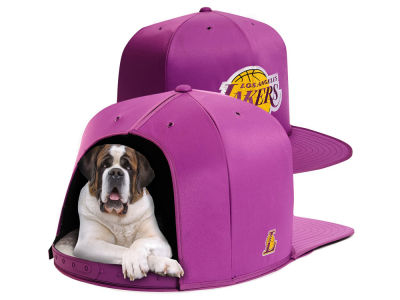 Los Angeles Lakers Nap Cap NBA Nap Cap Pet Bed - Large