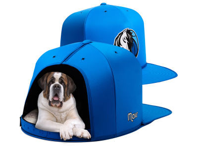 Dallas Mavericks Nap Cap NBA Nap Cap Pet Bed - Large