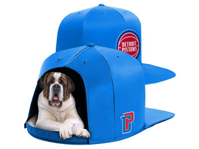 Detroit Pistons Nap Cap NBA Nap Cap Pet Bed - Large