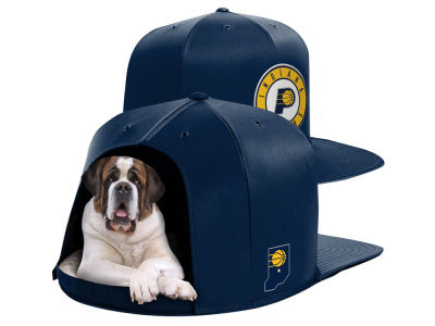Indiana Pacers Nap Cap NBA Nap Cap Pet Bed - Large