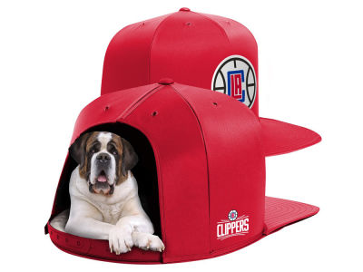 Los Angeles Clippers Nap Cap NBA Nap Cap Pet Bed - Large