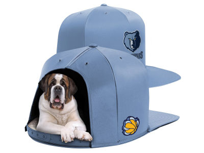 Memphis Grizzlies Nap Cap NBA Nap Cap Pet Bed - Large