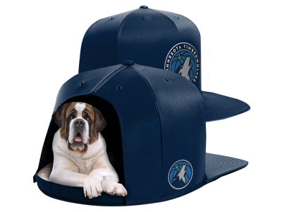 Minnesota Timberwolves Nap Cap NBA Nap Cap Pet Bed - Large