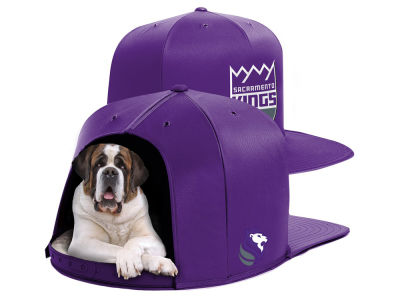Sacramento Kings Nap Cap NBA Nap Cap Pet Bed - Large